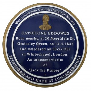 Cast Iron Commemorative plaque