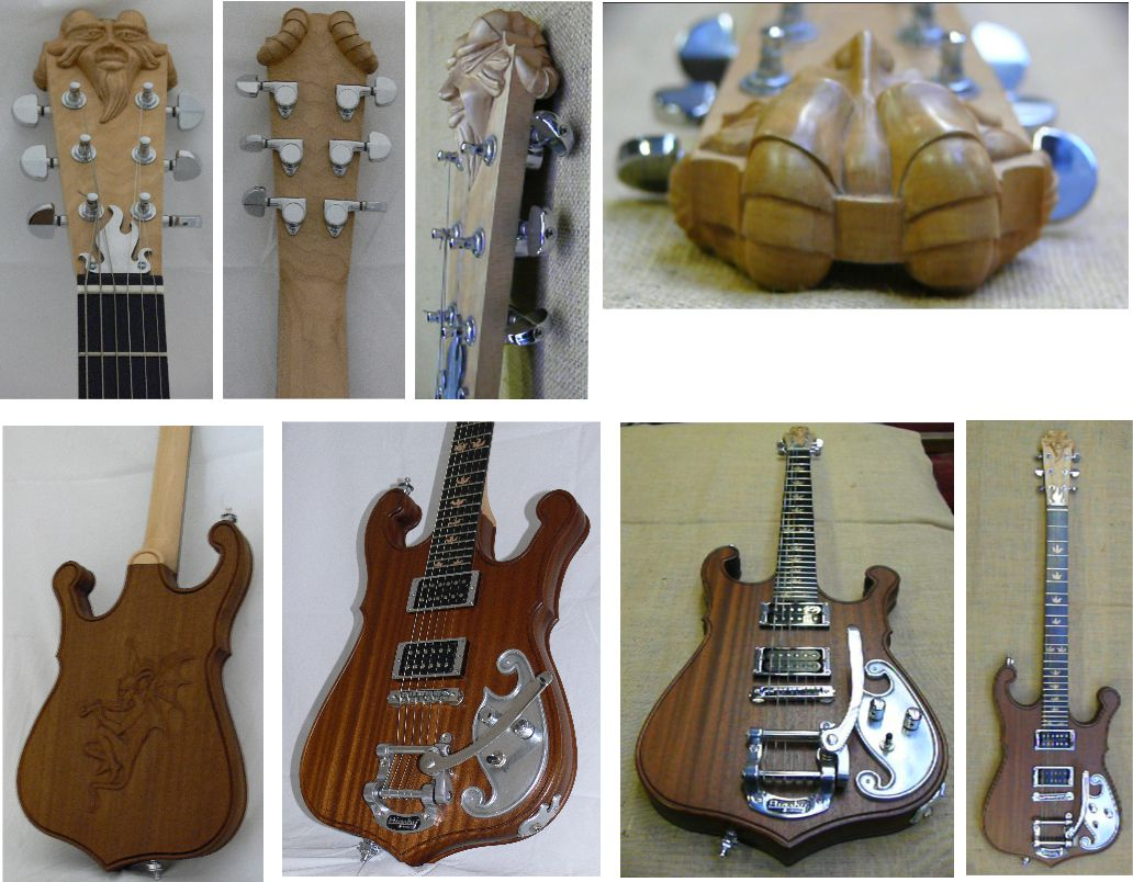 Woodcarvied_Guitar_with_devils_head_1
