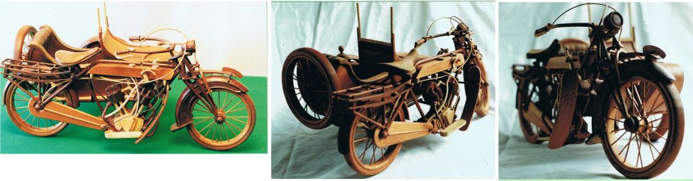 Woodcarving_of_Motorbike