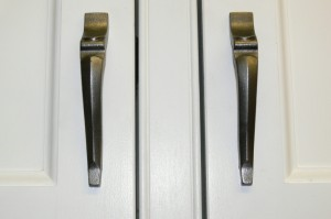Kitchen door handles