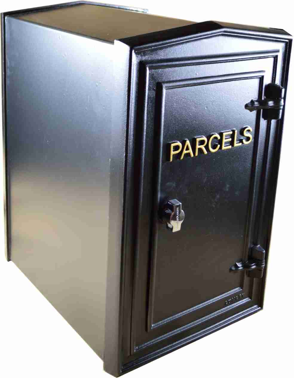 parcel drop box solid cast iron custom made by lumley. Black Bedroom Furniture Sets. Home Design Ideas