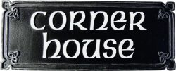 Celtic house name sign