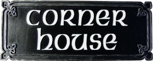 Celtic house name sign