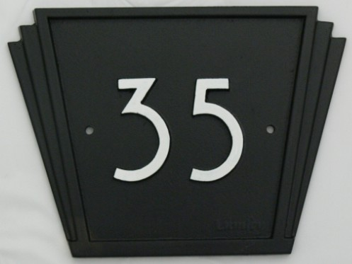 1930S House Number Signs