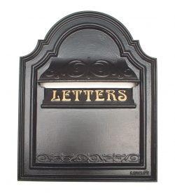 cast iron leter box