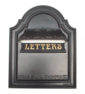 cast iron leter box
