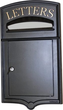 Letterplates With a Front Opening Door