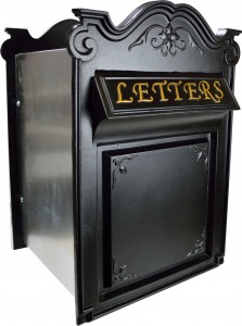 letter boxes through the wall design