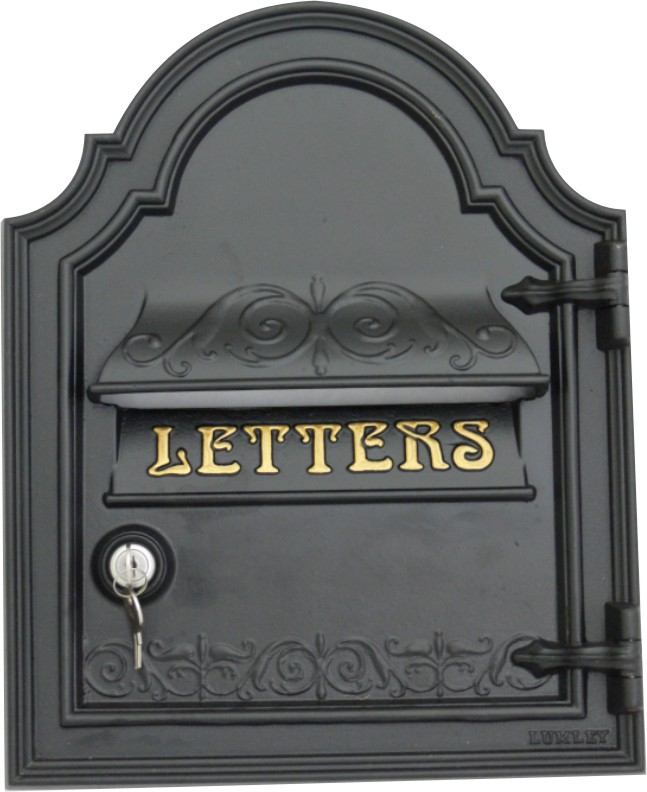 Front Door Letterbox: Post Box Front Plate Cast Victorian Style The Bourdon By