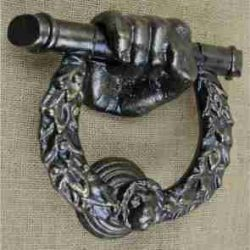 Georgian reproduction door knocker