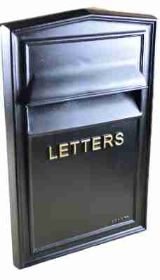 large through wall letterbox