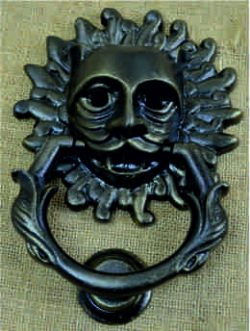 Sanctuary door knocker